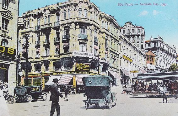 São Paulo antigo: Av. São João
