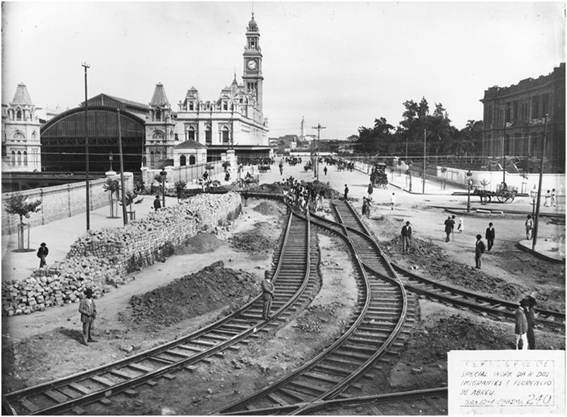 Memória de São Paulo: a Luz – cartão-postal da cidade