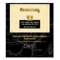 Integração da Loja online ao site Memórias do Tatuapé